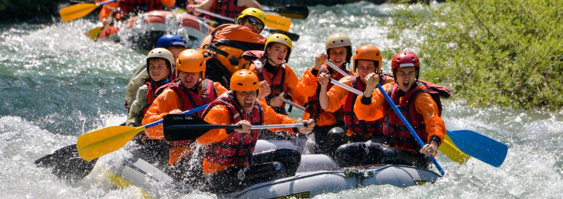 Discover rafting